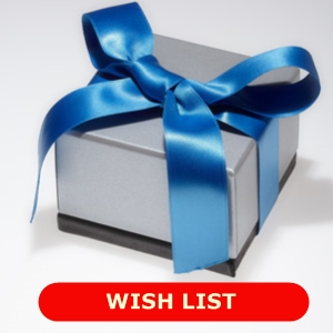 Support our work by donating an item from our wish list